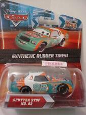 2010 Disney Pixar Cars No 92 SPUTTER STOP  ✿ KMART Synthetic Rubber Tires ✿