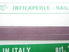 1 infila perle professional color cipolla con ago in rame 180 cm  n° da 1 a 9
