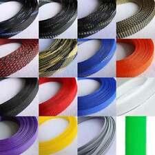 Ø4mm Expandable Braided Dense PET Sleeve Cable Hose Audio Diy - Various Color