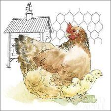 Beth Grove: Amusement at L' COOP I image-châssis toile poule ferme POULET