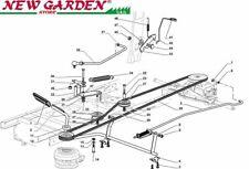 Esploso comando freno cambio SD98 XD140 trattorino rasaerba CASTELGARDEN 2002-13
