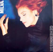 MILVA canta in tedesco disco LP 33 g VANGELIS Geheimnisse GERMANY stampa TEDESCA