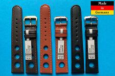 Sport Watch Band Rallye Black, Braun 18,20mm from Rios 1931 from Deutschland