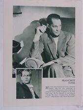 FRANCHOT TONE vintage cutting green monochrome photo 1935 , 8x10