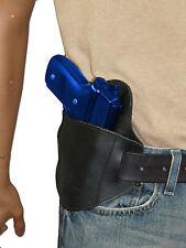 New Barsony Black Leather Belt Slide Gun Holster Norinco Kimber Full Size 9mm