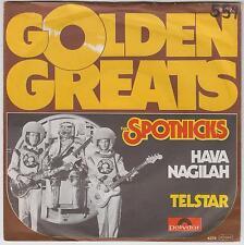 """THE SPOTNICKS - Hava Nagilah - Deleted 2-track 7"""" vinyl single in picture sleeve"""
