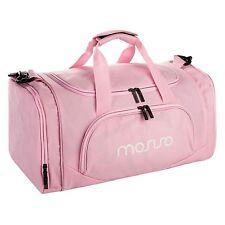 Mosiso Canvas Fabric Women Gym Bag Sports Duffels Athletic Sport Shoulder Bag