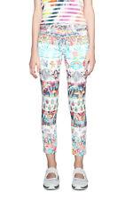 Desigual White & Bright Cropped Arantxa Jeans 36-46 UK 8-18  RRP ?74 Denim