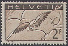 Schweiz Nr. 245x postfrisch ** MNH / gestempelt Flugpost 1930