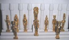1999 L'OR DES PHARAONS EGYPTE ANCIENNE DIEU TOUTANKHAMON CLEOPATRE FEVE METAL 3D