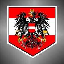 adesivo bandiera Austria Österreich flag sticker autocollant pegatina aufkleber
