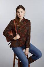 """Women's 100% Pure Alpaca Floral Cardigan Sweater """"Ophelia"""""""