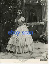 "LORETTA YOUNG Vintage Original Photo ""RAMONA"" Outside Amazing Gown Portrait"
