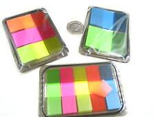 3 Pack pop-up flúor reposicionables Adhesivo Nota Adhesiva índice de Marcador Etiqueta Marcador