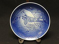 Copenhagen Bing Grondahl B&G 1975 Christmas At The Old Water-Mill 9075 Plate