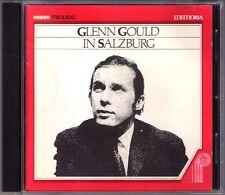 Glenn Gould in Salzburg 1959 Bach Goldberg VARIAT sweelinch Schoenberg Mozart CD