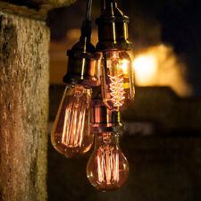 E27 B22 25W 40W 60W Dimmable Vintage Retro Filament Edison Light Bulbs Pear Tube