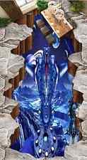 3D Armor Warrior Moon 65 Floor WallPaper Murals Wall Print Decal AJ WALLPAPER CA