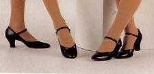 "Character Shoes ch/ladies Tan or Black #3506 2"" heels choir musical theatre"