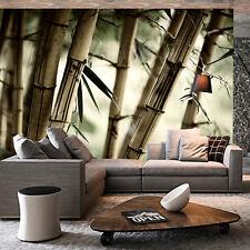 3D Bamboo leaves 692 WallPaper Murals Wall Print Decal Wall Deco AJ WALLPAPER