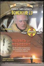DEMENTIA 13 / MURDER AT MIDNIGHT HORROR CLASSICS NEW SEALED