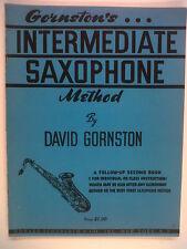 Intermedio SASSOFONO metodo David gornston