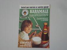 advertising Pubblicità 1974 KARAMALZ