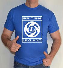 British Leyland, Vintage, Coche Insignia Camiseta Diversión.