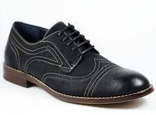 Ferro Aldo Black Lace up Wingtip Oxford Dress Shoes MFA-139357E