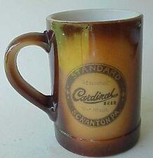 Vintage Cardinal Beer Mug Scraton Pa.