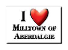 SOUVENIR UK - SCOTLAND MAGNET MILLTOWN OF ABERDALGIE (PERTH AND KINROSS)