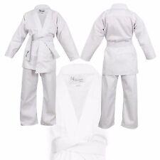 White Children's Karate Suit - Free White Belt Kids Karate suit