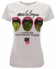 T-shirt 'MaleLingue - se provocata divento ACIDA PUNGENTE TAGLIENTE' Originale S