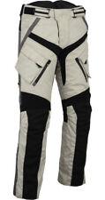 Herren Motorradhose Cordura Textil Grau,Neu Sommer Motorradhose-Gr XS-5XL