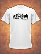 Evoluzione delle MOTO MOTOCICLETTA MOTOCICLISTA MOTO BIKER Natale T-shirt kids