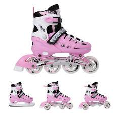 4in1 Skates Rollschuhe Schlittschuhe Nils Pinky 31-34 35-38 39-42 verstellbar