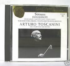 R.STRAUSS DON QUIXOTE TOD UND VERKLARUNG TOSCANINI  CD