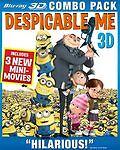 Despicable Me (Blu-ray 3D / Blu-ray / DVD) DVD, Jason Segel,Steve Carell, Chris