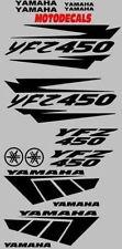 YFZ450 YFZ 450 Plastic fender Decal Sticker kit Tank Emblems Graphics Kit