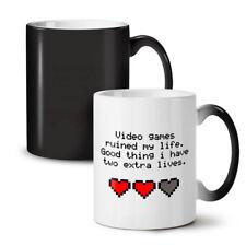 Videogiochi Vite NUOVO colore modifica Tè Tazza Da Caffè 11 OZ (ca. 311.84 g)   wellcoda