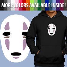 Spirited Away Ghibli Kaonashi No Face Anime Pullover Sweatshirt Hoodie Sweater