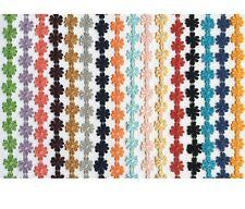 12.5mm Daisy Flower Lace Trim per yard - Pick Your Colour