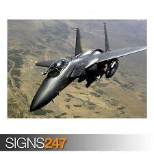 Fuerza Aérea huelga F 15E (4086) cuadro arte cartel impresión de foto A0 A1 A2 A3 A4