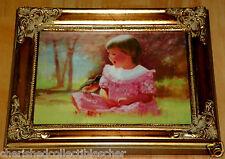 Donald Zolan Miniature Canvas Transfer Spring Duet LE 1994