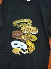 Royal Python Snake T-Shirt Adult sizes. Ball Python Reptile FREE POST