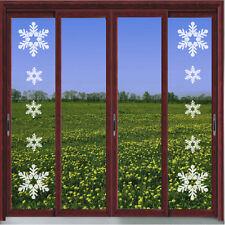 SNOWFLAKE VINYL ETCH PATIO/ DOOR/ WINDOW/ MIRROR FROSTED GLASS ART STICKERS