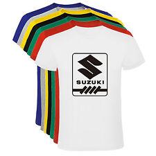 Camiseta Suzuki logo motor motos tipo B Hombre varias tallas y colores a058