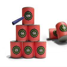 6 Suave La Espuma Puede Objetivos Para Nerf N-strike Elite Bala Kid Toy Shooting