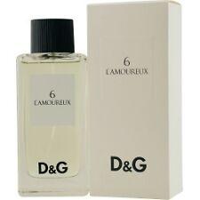 Dolce & Gabbana 6 L'Amoureux 3.38fl oz (PLUS 1 SURPRISE PERFUME FOR FREE)