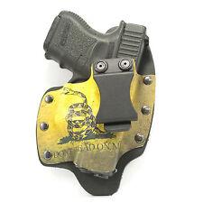 NT Hybrid IWB Holster for Canik, Desert Eagle, Remington Guns, Don't Tread On Me
